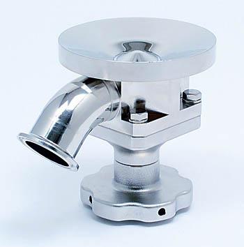 Sanitary valves      サニタリーバルブ      14              ダイヤフラム式タンクボトムバルブ SDSanitary valves      サニタリーバルブ